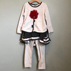 Rare Editions girl's outfit